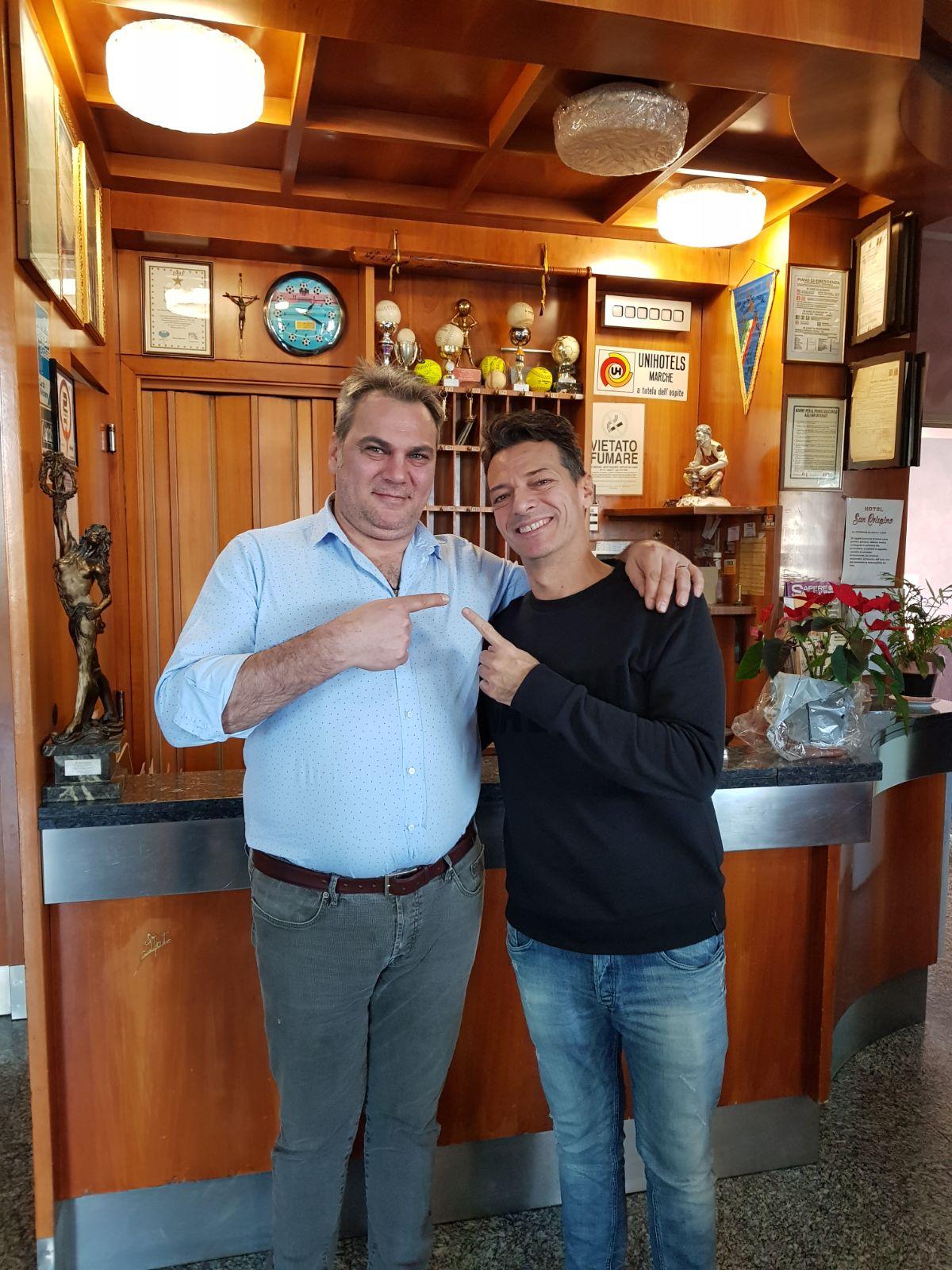 DJ Molella all'Hotel San Crispino di Trodica - Macerata