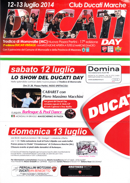 Ducati Day Trodica di Macerata