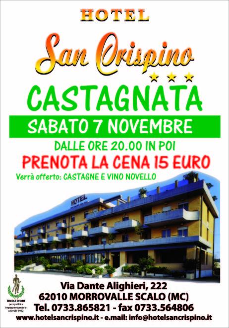 castagnata all'Hotel San Crispino